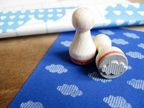 The cutest cloud stamp. #EtsyGermany