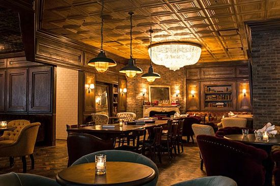 Dillman's Interior Design #Chicago #Restaurant