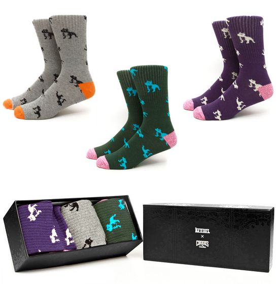 Leftfoot Bully Socks - 3 Pack // Crooks & Castles