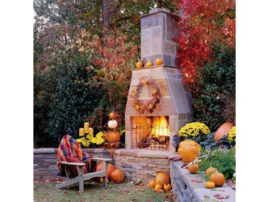 Outdoor fireplace? - Home and Garden Design Ideas