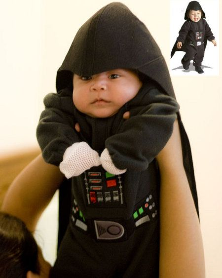 that's an awesome baby costume
