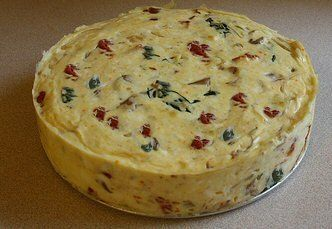 COLLECTION OF SAVORY CHEESECAKE RECIPES
