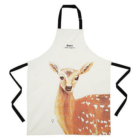 Wild Animals Deer Apron