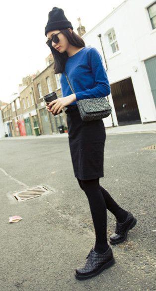 Vintage Style Slim Skirt