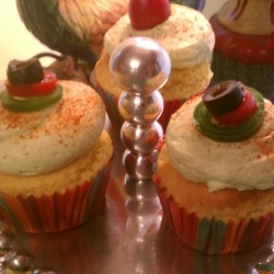 Savory Mexican Dinner Cupcakes by TexanasKitchen