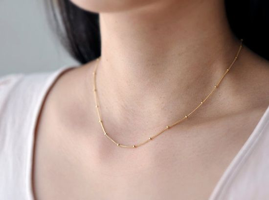 delicate simple gold filled necklace - minimal modern jewelry    need this! love this!