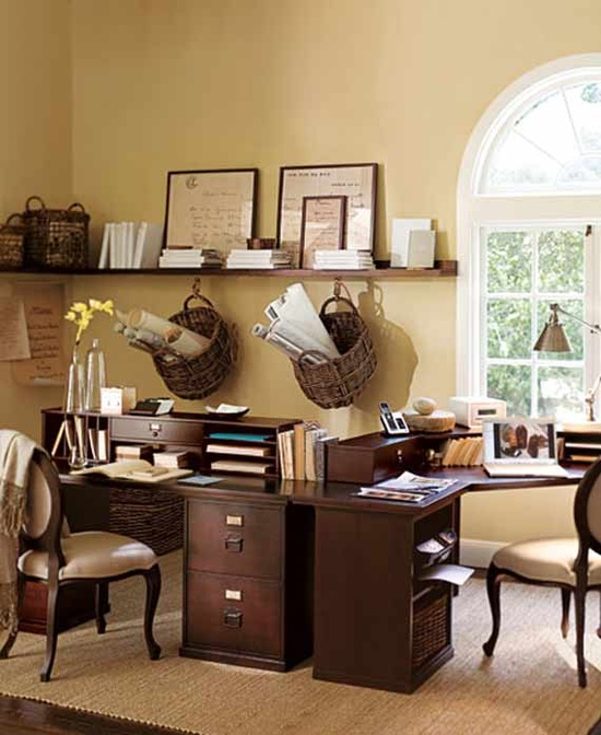 Classical Home Office Design Ideas