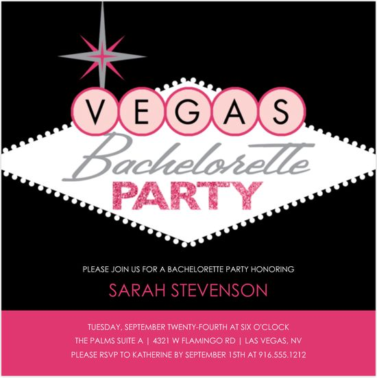 Bachelorette Party Ideas and Invitations