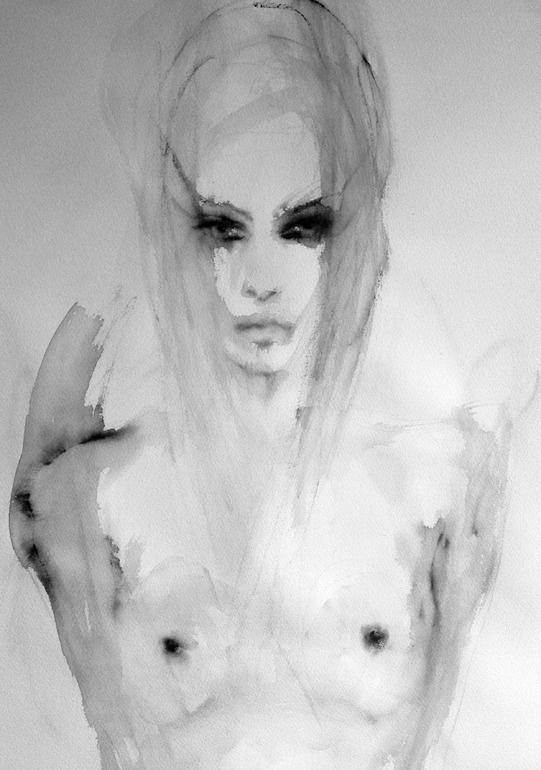 "Saatchi Online Artist: Fiona Maclean; Acrylic, 2012, Painting ""Calia"""