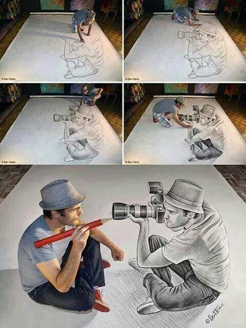 3D art sketch