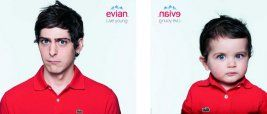 baby / the new evian
