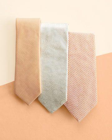 peach ties