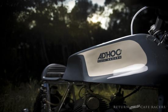 Moto Morini Adhoc Cafe Racer ~ Return of the Cafe Racers