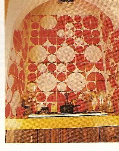 The Funky 70s Kitchen Cooktop. by glen.h, via Flickr