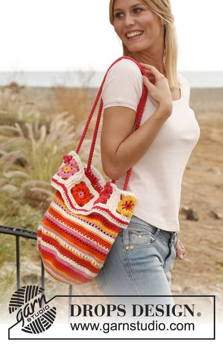 Sicily Crochet Tote: free pattern