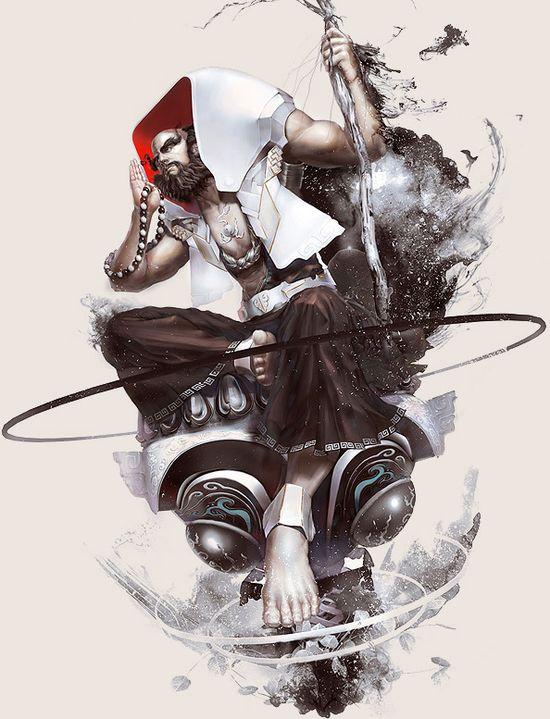 Game Character Design - Fantasy Art work by Hong yu cheng-1