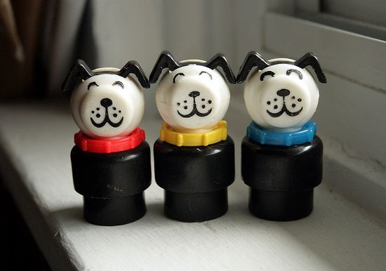 Fisher Price Little People Dogs