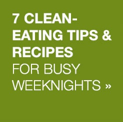 your plan for clean eating on busy weeknights