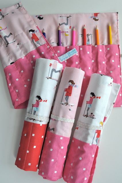 'Sherbet Pips' pencil rolls
