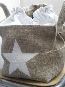 DIY  linen bag