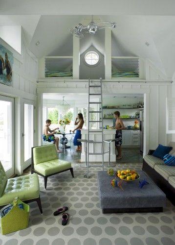 Beach house loft