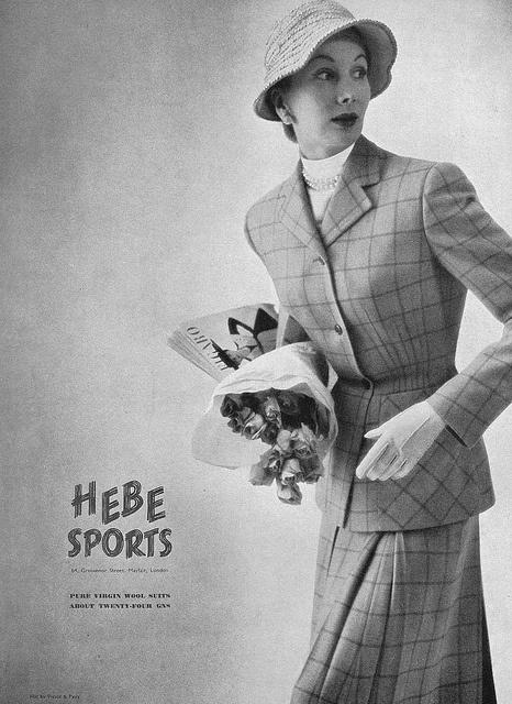 For British Vogue, July 1951
