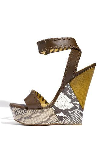 Lanvin 'Puzzle' Platform Sandal