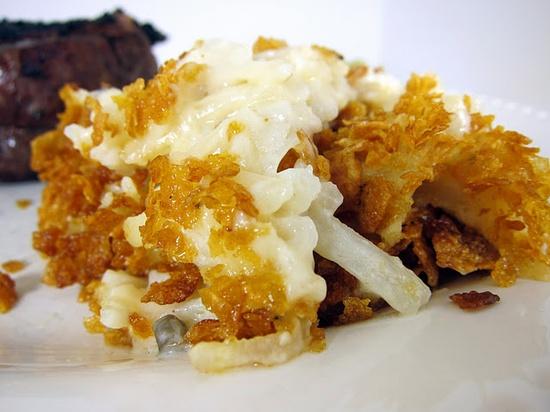 Creamy Potato Cassarole (aka Football Potatoes)
