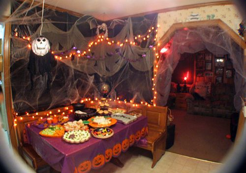 Great Halloween party idea.