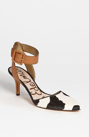 A more casual version of the ankle strap pump. So pretty.