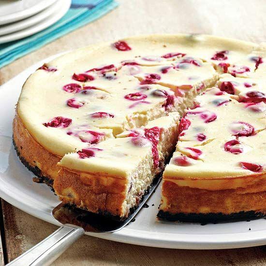Cranberry-Orange Cheesecake