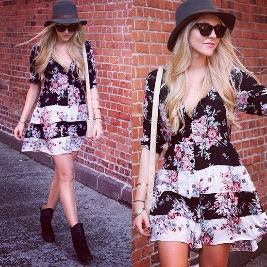 Warm day in Cali. Still keeping out my summer clothes @arnhem_clothing dress #fashion #style #cheyennemeetschanel #sheamarie - @Shea Marie-