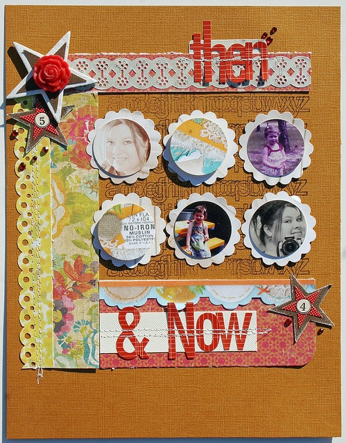 #papercraft #scrapbook #layout    Melissa Mann