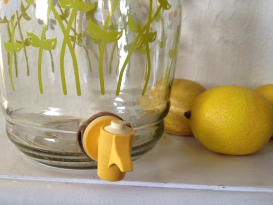 Vintage Glass Drink Dispenser by VintageMindedMaven on Etsy, $20.00  #vintage #etsy #kitsch