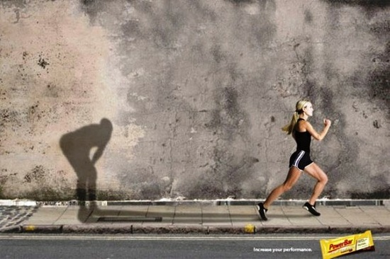 Funny ad. Runners