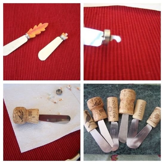 Cheese Knives, 25 Things You Can DIY With Corks