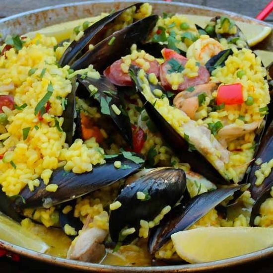 Cheat's Paella