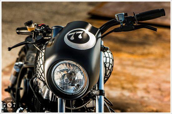 1981 Honda CM400T - 7SevenCustoms - Pipeburn - Purveyors of Classic Motorcycles, Cafe Racers & Custom motorbikes