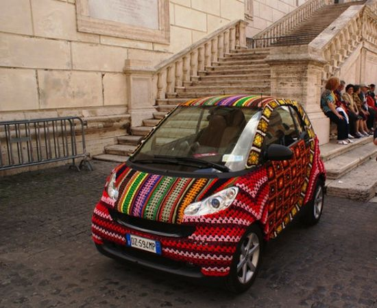 STREET ART UTOPIA » We declare the world as our canvasstreet_art_yarn_crochet_8 » STREET ART UTOPIA