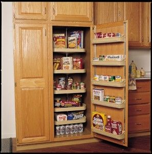 Having a pantry cabinet in your kitchen would make life a little easier. by Kitchen Cabinet Kings at www.kitchencabine... - Buy Kitchen Cabinets Online and Save Big with Wholesale Pricing! #kitchen #cabinets #home #cabinetry #organization