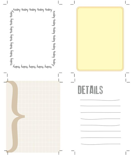 Project Life free journaling cards by The Creative Place #printable #projectlife #freebie