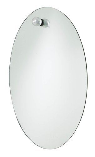 ":USE Nuovo Small Oval Mirror, Polished Chrome by :USE. $149.00. Inspired by the perfect shape of an egg. Nuovo blends grace and utility with contemporary flair in this line of bath hardware and accessories. Simple to install. Ideal for residential or commercial use. Matching items available. Nuovo Small 22"" x 16"" Oval Mirror in Polished Chrome. Inspired by the perfect shape of an egg, Nuovo blends grace and utility with contemporary flair in this line of bath hardware and accessories."
