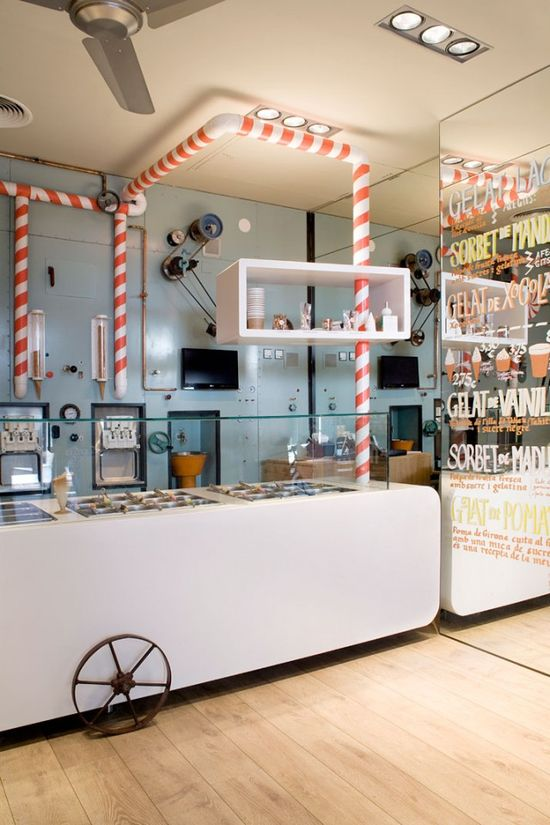 Rocambolesc Ice Cream Parlour Interior Design14
