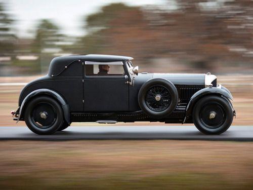 1926Bentley 6 ½ Sport Coupe