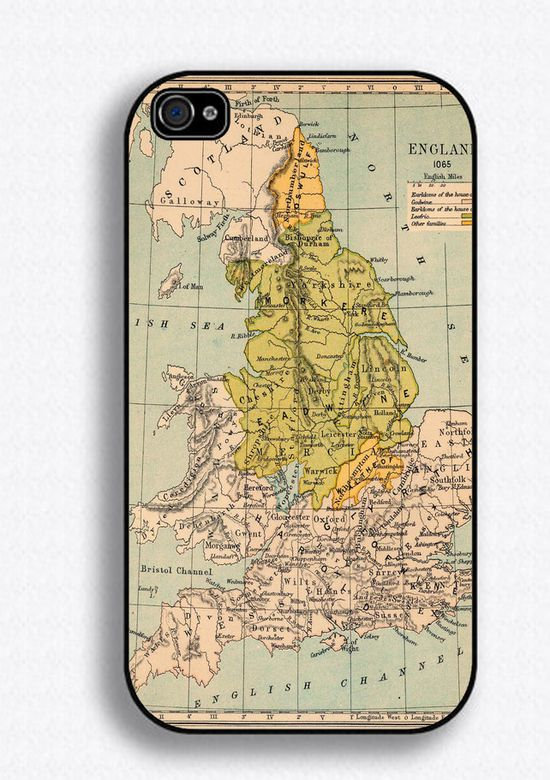 Map iPhone case. :
