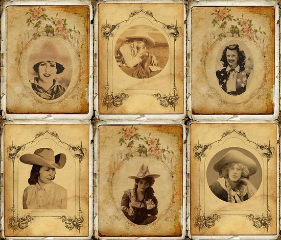 Cowgirl Scrapbook