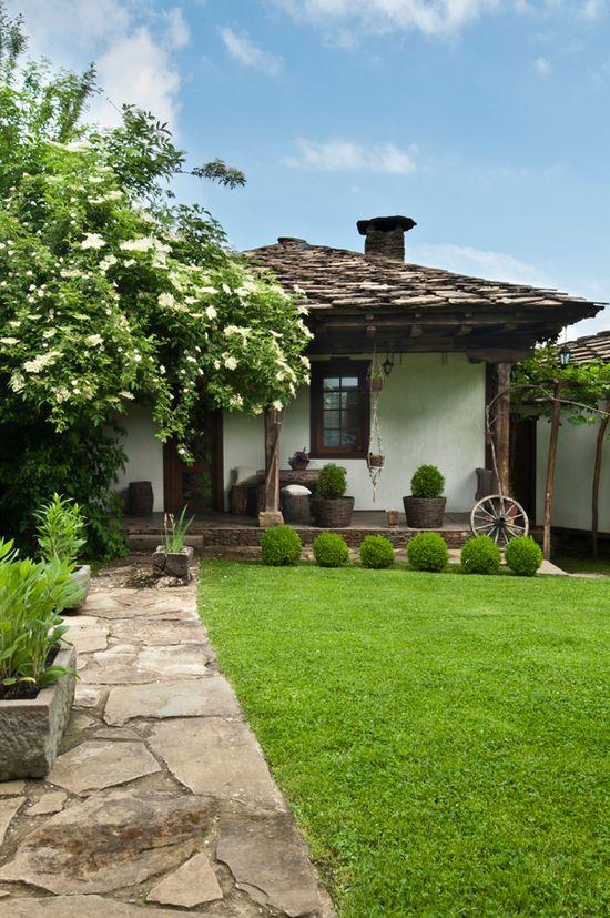 bulgaria - traditional home