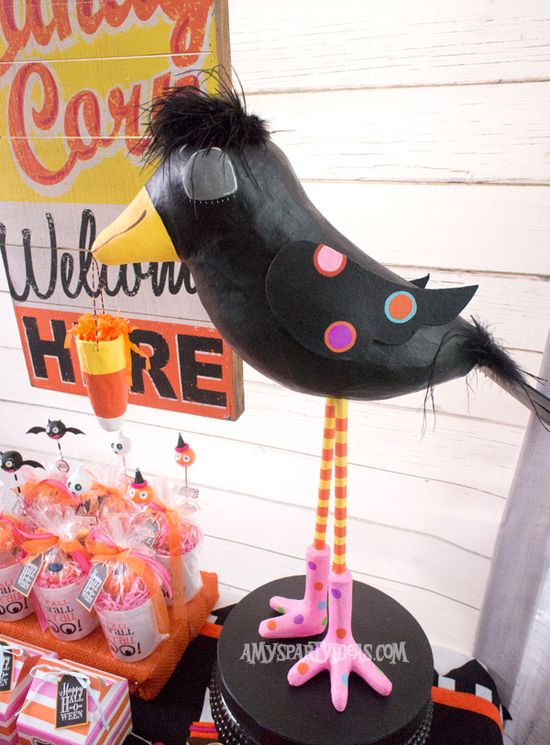 Candy-Corn-Halloween-Party_Crowdilla-(9) @Amy's Party Ideas #halloween #party #ideas #candycorn