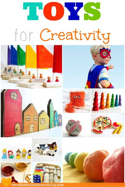 Children's Toys that Promote Creativity and Imagination #gift ideas