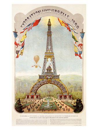Vintage Posters - Travel. Paris, France.